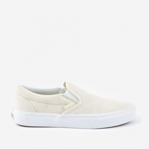 Classic Slip-On Hairy Suede - Turtledove