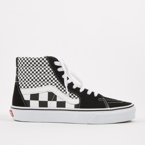 Sk8-Hi - Mix Checker - Black/True White