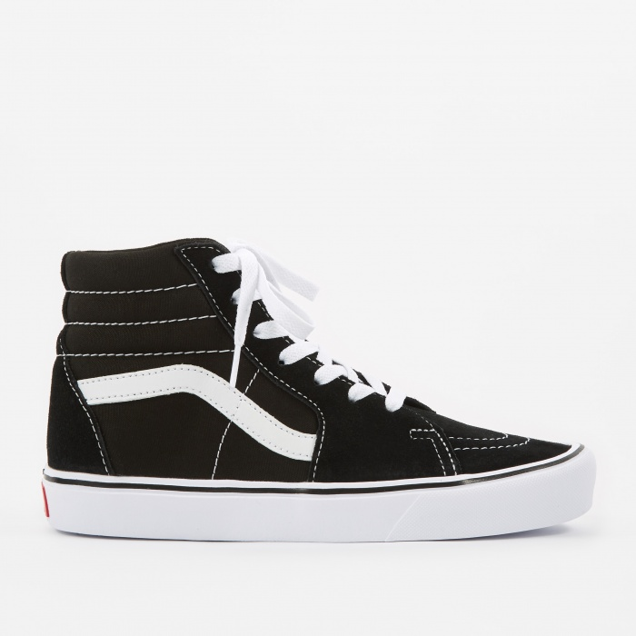 Vans Sk8-Hi Lite - Suede/Canvas - Black/White (Image 1)