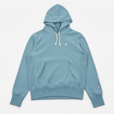 Champion Classic Reverse Weave Hooded Sweatshirt - Teal