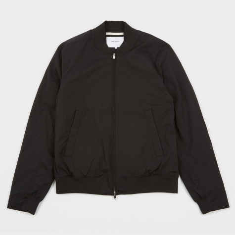 Ryan Poplin Jacket - Black