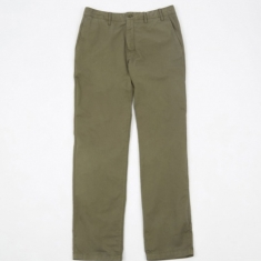 Norse Projects Aros Light Twill Trouser - Dried Olive