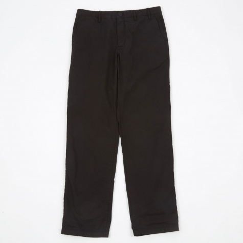 Aros Light Twill Trouser - Black