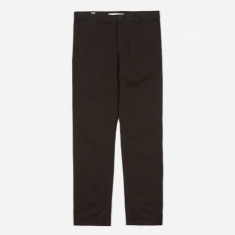 Norse Projects Aros Light Twill Trouser - Black
