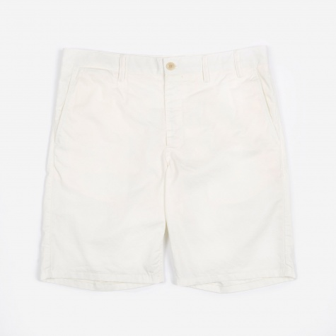 Aros Light Twill Short - Kit White