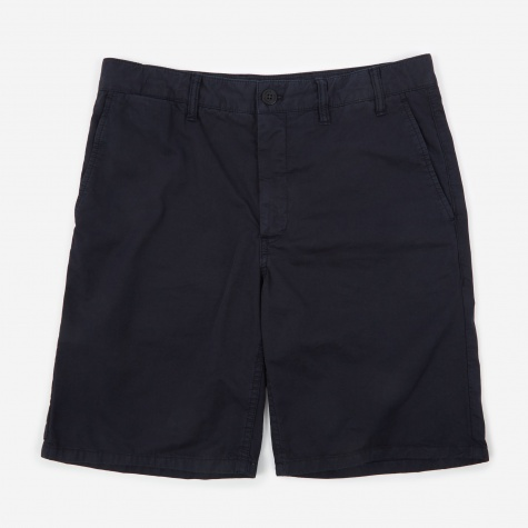 Aros Light Twill Short - Dark Navy