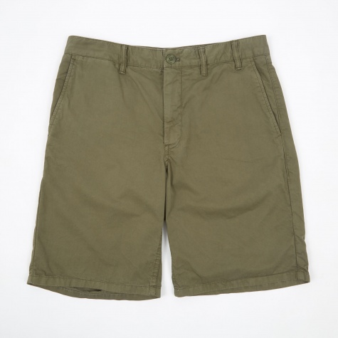 Aros Light Twill Short - Dried Olive