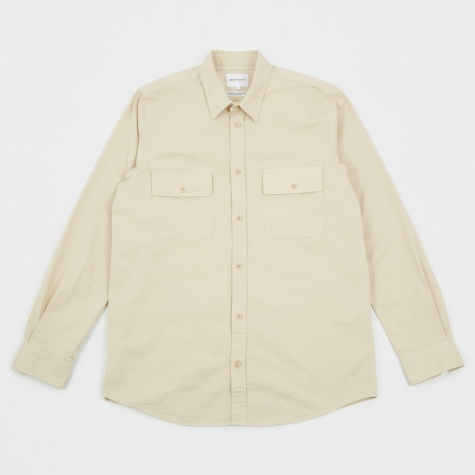 Villads Light Twill Shirt - Sand