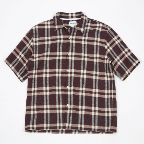 Carsten Heavy Structure Shirt - Burned Red