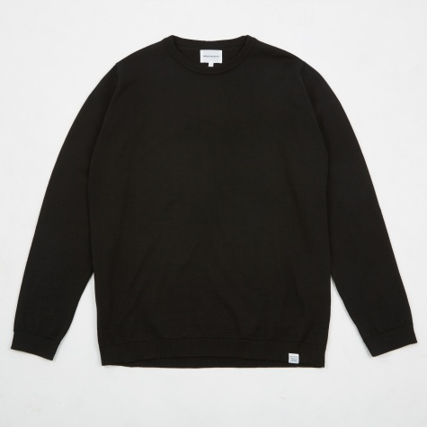 Sigfred Merino Wool Knit - Black