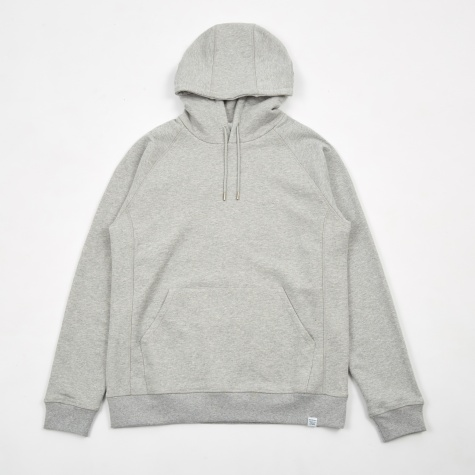 Ketel Classic Hooded Sweatshirt - Light Grey Mela