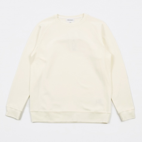 Vorm Summer Interlock Crewneck Sweatshirt - White