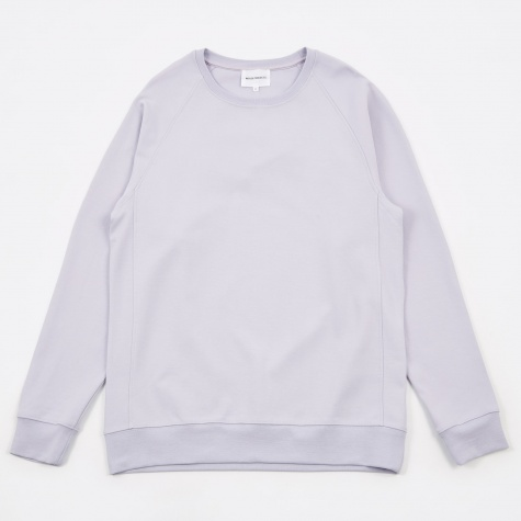 Vorm Summer Interlock Crewneck Sweatshirt - Heath