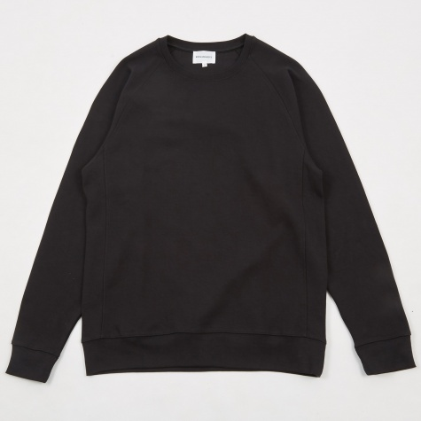 Vorm Summer Interlock Crewneck Sweatshirt - Black