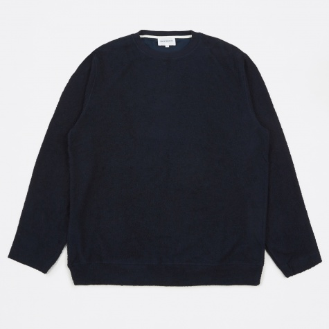 Rask Summer Structure Crewneck Sweatshirt - Dark