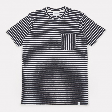 Niels Pocket T-Shirt - Dark Navy