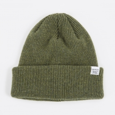 Norse Projects Norse Beanie Hat - Dried Olive