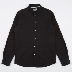 Norse Projects Anton Denim Shirt - Black