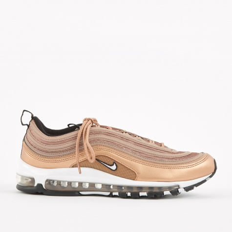 Air Max 97 Shoe - Desert Dust/White-MTLC Red Bronze-Black
