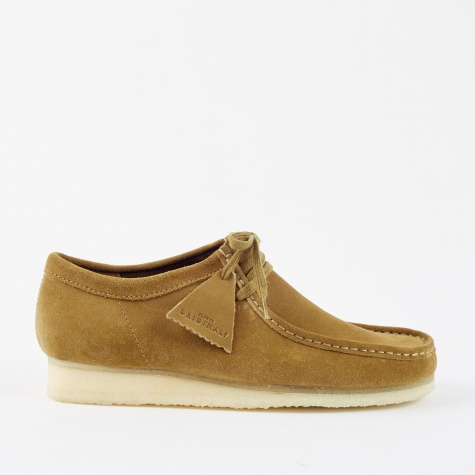 Clarks Wallabee - Olive Suede