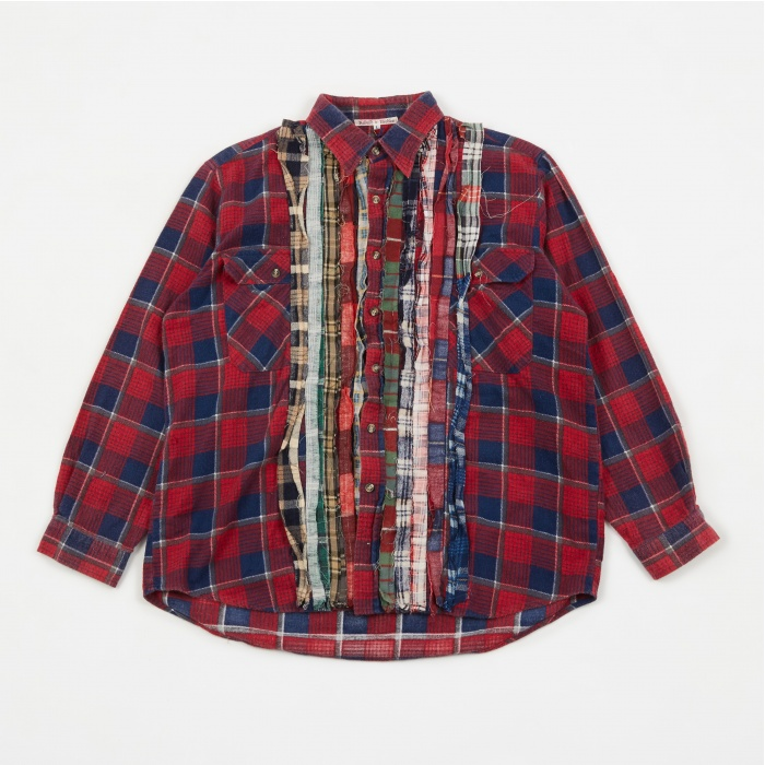 Needles Rebuild Ribbon Flannel Shirt - Assorted (Image 1)