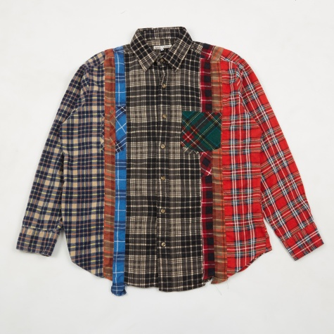 Rebuild 7 Cuts Flannel Shirt - Assorted