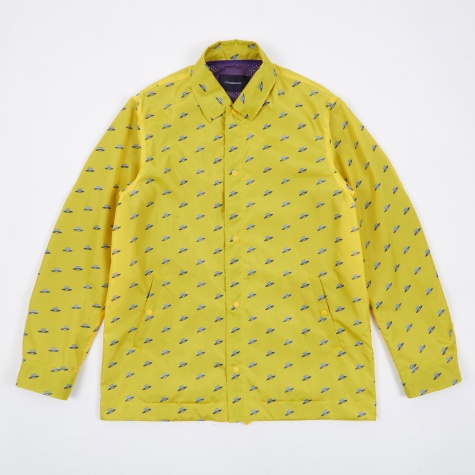 JohnUNDERCOVER Printed Jacket - Yellow