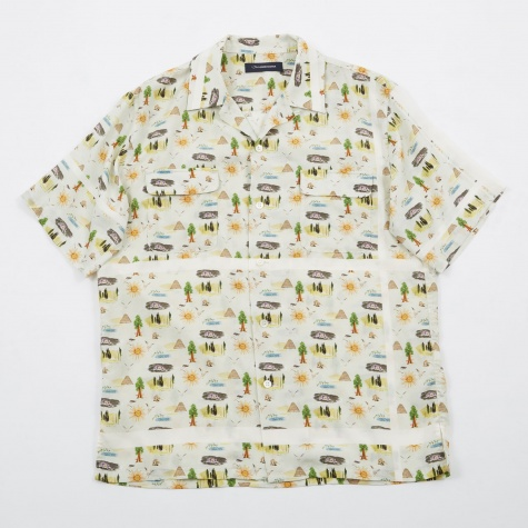 JohnUNDERCOVER Printed Shirt - Beige