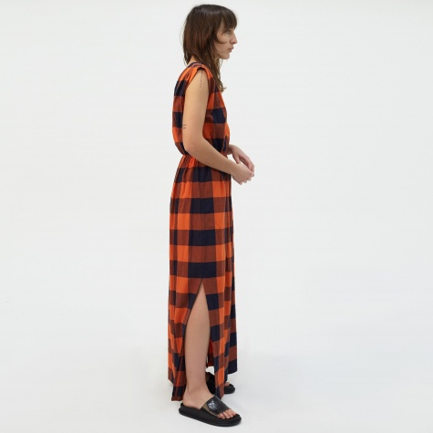 Enza Dress - Red Check