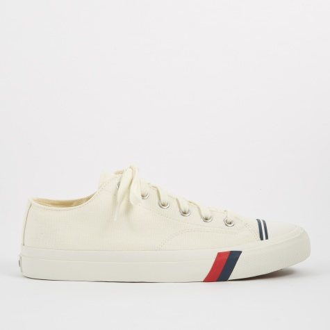 Royal Lo Classic Canvas - White