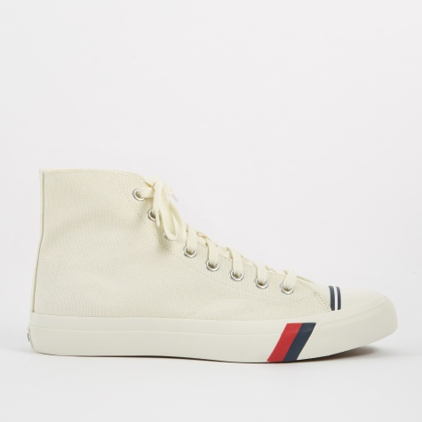 Royal Hi Classic Canvas - White