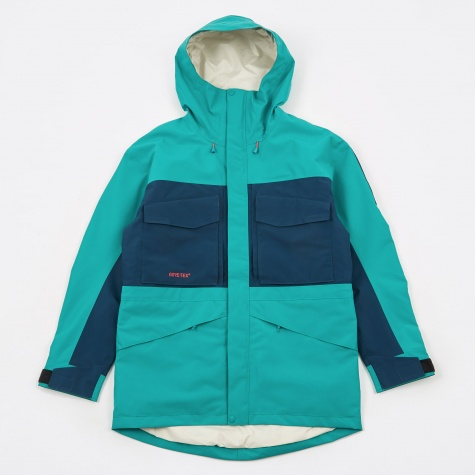 The North Face Fantasy Ridge GTX Jacket - Porcelain Green/Blue
