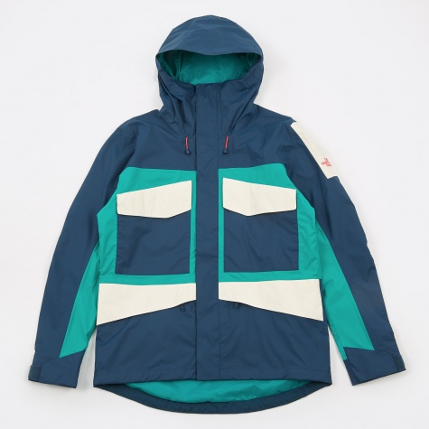 The North Face Fantasy Ridge Jacket - Blue Wing Teal/Porcelain G