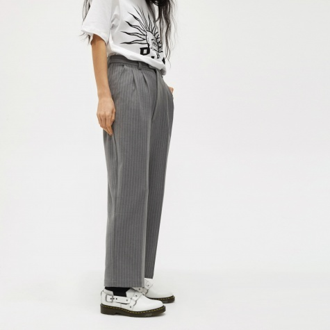 Perks And Mini Twilight Pike Trouser - Grey Stripe