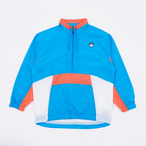 Perks And Mini Collective Persp-Active Pullover Jacket - Blue/Or
