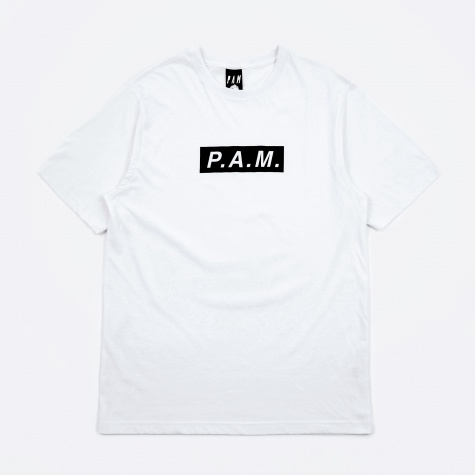 Perks And Mini P.A.M Logo Short Sleeve T-Shirt - White
