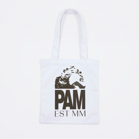 Perks And Mini Ruins Small Tote Bag - White