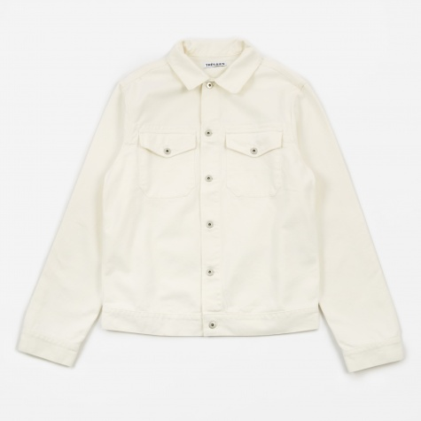 Tres Bien Jean Jacket - Snow White