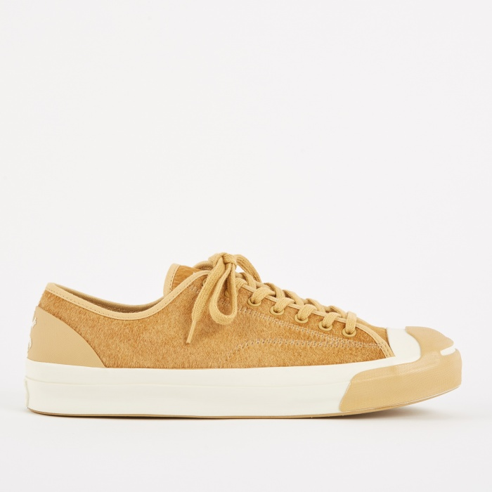 Converse x BornxRaised Jack Purcell - Camel/Egret/Black (Image 1)