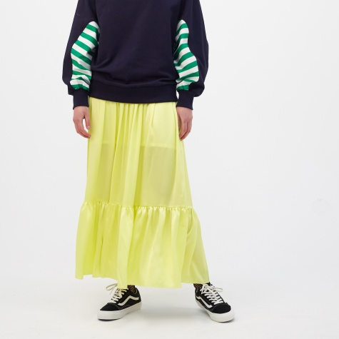 Shining Flare Skirt - Lemon Tonic