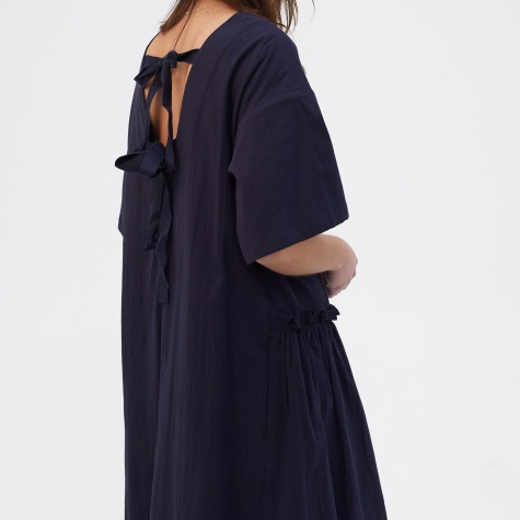 Apron Dress - Navy