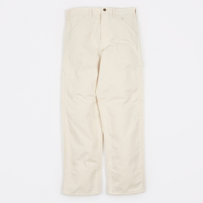 Stan Ray Single Front Painter Trousers - Natural (Image 1)