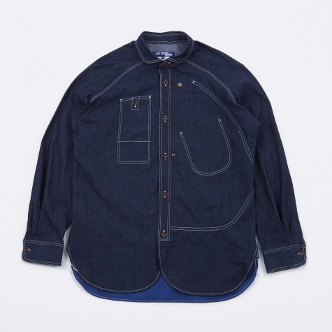 Denim/Twill Shirt - Indigo/Blue