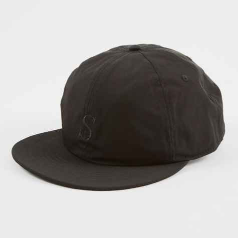 Rich Italic Snap Hat - Black