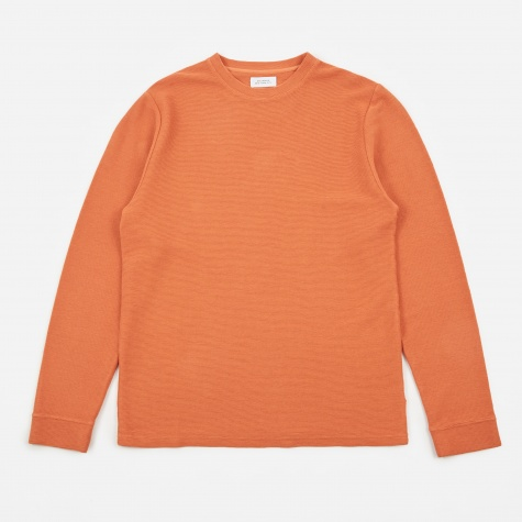Graham Horizontal L/S T-Shirt - Copper Rose