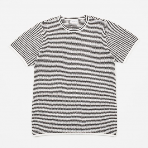 Brandon Stripe T-Shirt - Black