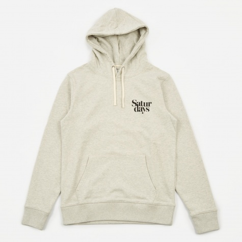 Ditch Miller Hooded Sweatshirt - Natural Heather