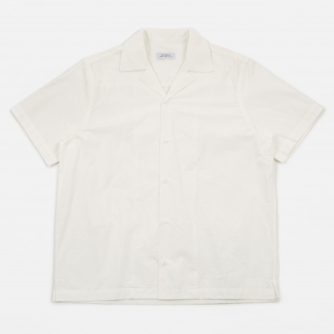 Canty Solid Shirt - White