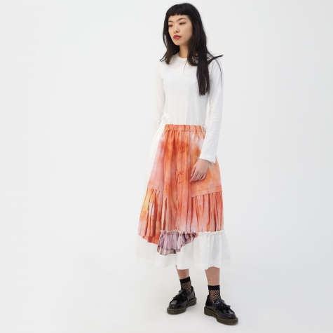 Ink Jet Print Skirt - F Patt
