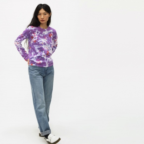 Long Sleeve Top - Purple/Pin